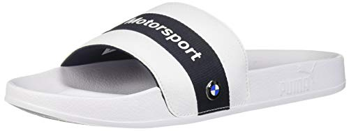 PUMA Herren BMW Leadcat, White-Team Blue, 48 EU