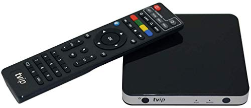 TVIP S-Box v.501 IPTV HEVC Full HD Android/Linux Multimedia Stalker Interner IP TV Streamer 512MB RAM + 8GB eMMC, MicroSD Card, EXT.IR, 2,4GHz WLAN inkl. HDMI Kabel Ext Tv