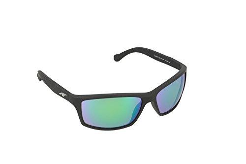 Arnette Herren 0AN4207 225387 61 Sonnenbrille, Schwarz (Fuzzy Black/Traslucent Grey)