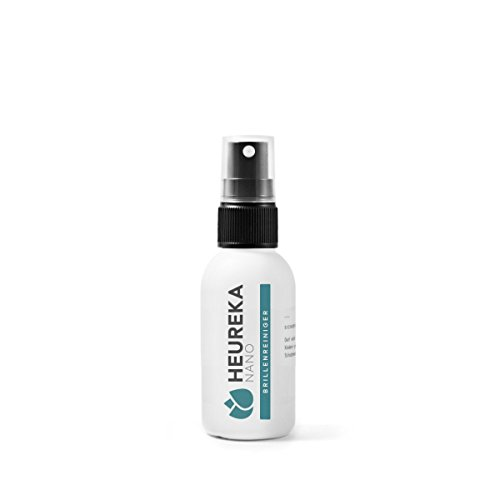 Heureka® Clean Brillenreiniger mit 3fach Wirkung für Reinigung, Anti-Statik & Anti-Beschlag / Profireiniger vom Optiker und der Industrie für Ihre Brille zu Hause (50ml)