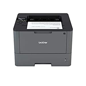 Brother HL-L5000D A4 Mono Laser Printer, PC Connected, Print and Duplex 2 Sided Printing