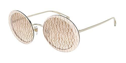 Ray-Ban Damen 0AR6087 Sonnenbrille, Braun (Pale Gold), 59.0