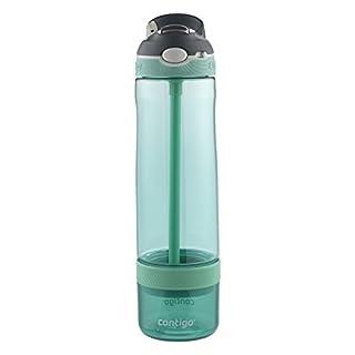 Contigo AUTOSPOUT Ashland Infuser Bottle,?26 oz., Grayed Jade by Contigo