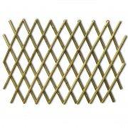 Treillis en bambou extensible (2 pièces), tuteur, décoration de jardin, clôture, longueur bambou 2 m (2x12103)