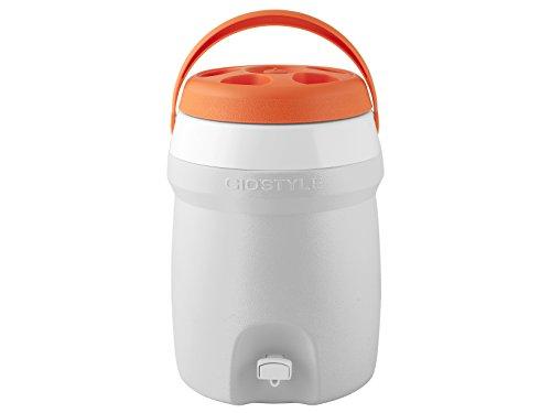 GioStyle Elektrische Kühlbox mit einer Stromversorgung Gio Stile Ciao Thermos-Spender mit Hahn, mehrfarbig, weiß, 26x27, 3803001