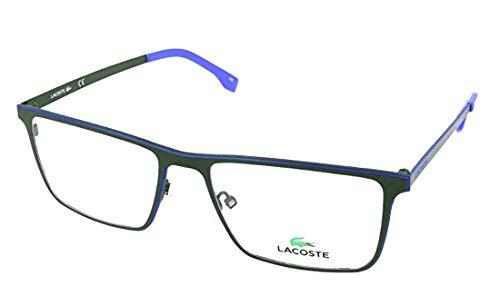 Lacoste L2232 Rechteckig Brillengestelle 54, Grün
