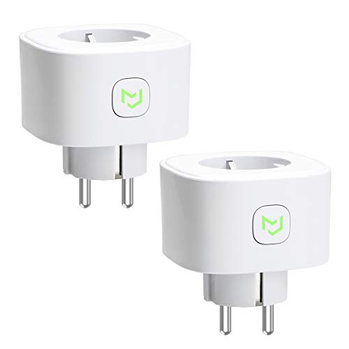 Foto Meross Schuko MSS210KIT(EU) 2 Prese Intelligenti Wi-Fi, Wireless, 16 A, 3680...