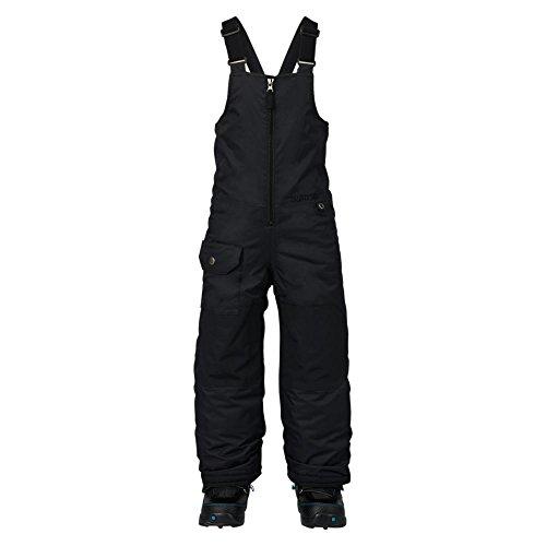 Burton-Pantaloni da snowboard con bretelle pettorina ragazzo, Ragazzo, Snowboardhose MINISHRED MAVEN BIB PANT, nero