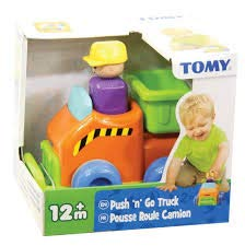 TOMY TOOMIES Push & Go Truck