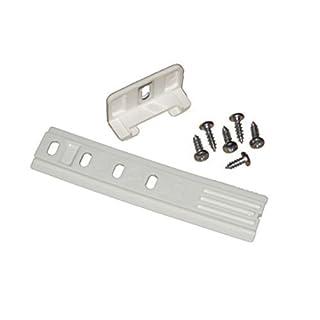 inet-trades 1 Stück Schleppscharnier Montageset für Kühlschranktüren Kühlschrank Gefrierschrank Scharnier Hinge GmbH