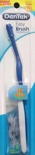dentek-easy-brush-interdental-kit16-refills-and-one-handle-wide-tapered-sealed-by-dentek
