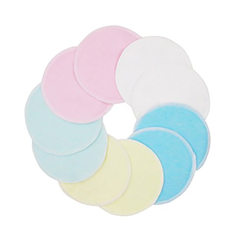 Frcolor 12pcs Make-Up Entferner Pads wiederverwendbare Abschminkpads Wattepads Gesichtsreinigungstuch