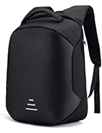 Deals Outlet Smart Anti Theft Backpack Waterproof 15.6 Inch Laptop Bagpack USB Charging Port 30 Ltrs Travel Hiking Fashion Business Bag for Men Women Unisex School College Office (Black)