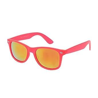 Ted Smith Wayfarer Sunglasses C2140-M.RED