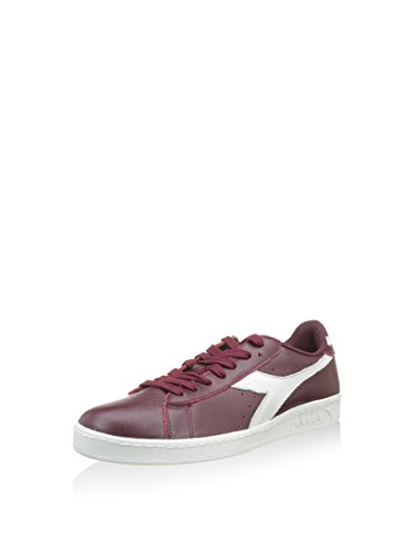 Diadora - Game L Low Waxed, Sneaker Unisex – Adulto Bordeaux