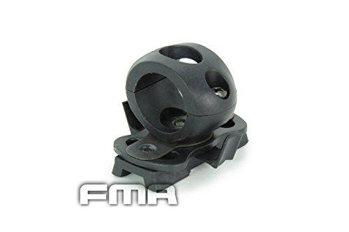 taktische-airsoft-schnell-freisetzung-einzel-3-4-taschenlampe-klemme-halter-reittier-3-farbe-schwarz