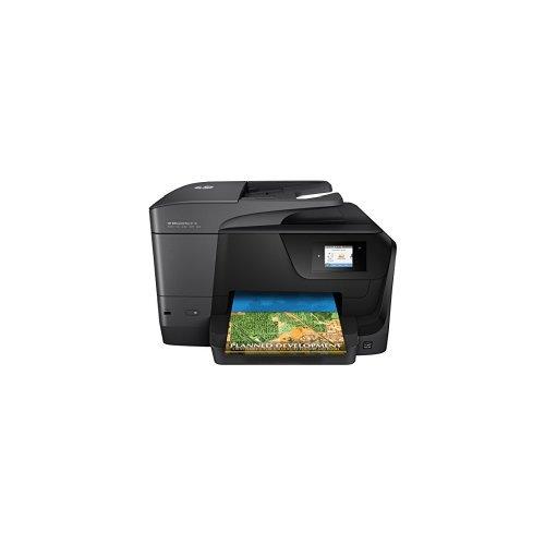 HP OfficeJet Pro 8710 Multifunktionsdrucker schwarz + HP Instant Ink Karte, 50 Seiten pro Monat Tarif