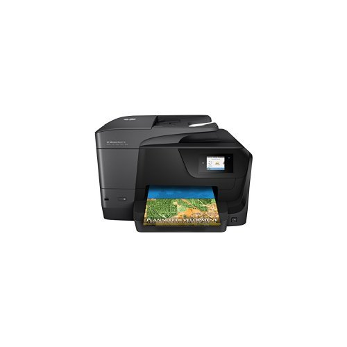 Preisvergleich Produktbild HP OfficeJet Pro 8710 Multifunktionsdrucker schwarz + HP Instant Ink Karte, 300 Seiten pro Monat Tarif