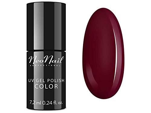 NeoNail UV LED Nagellack 7,2 ml - Wine Red UV Lack Gel Polish Soak off