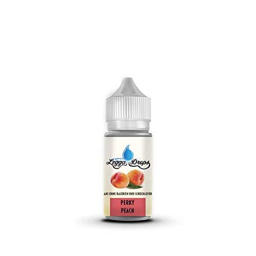Aroma Tropfen Flavor Drops ohne Kalorien für Wasser, Kaffee, Quark, Joghurt, flüssig, Süßstoff, Lebensmittelaroma Perky Peach Pfirsich
