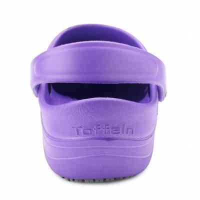 Toffeln Eziklog Unisex-Erwachsene Sicherheitsschuhe Violett