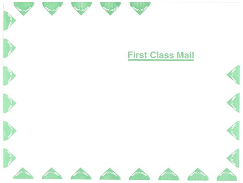 Ship-Lite Redi-Flap Mailer, 1st Class, Side Seam, 9 x 12, White, 100/Box