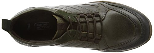 camel active Trail 71 Damen Sneakers Grün (jungle/bottle)