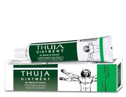 Bakson Es Thuja ungüento para las verrugas 25 Gms Homeopatía