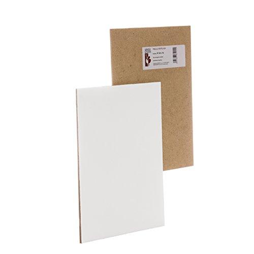 Lienzos Levante 0611266026 - 1 Tavoletta telata con grandezza 46 x 33 cm, 8P, con imprimatura alchidica