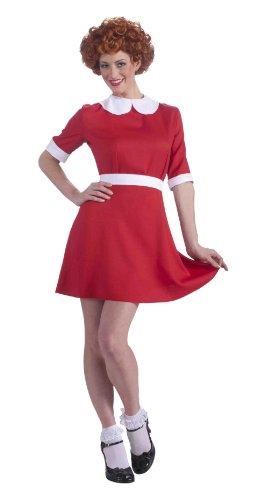 Kostüm Annie Adult - Forum Neuheiten 214489 Annie Kost-m - Rot - Norm