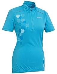 Mujer Camiseta bicicleta T Camiseta TopCool® Función de fibra azul M 40/42