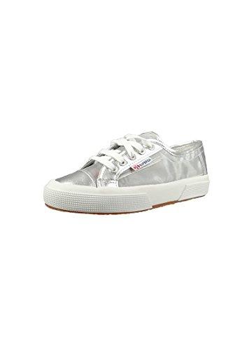 Superga 2750 Netw, Sneaker Unisex – Adulto Silber