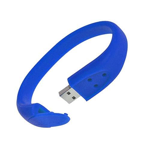 AJIAO USB-Armband Silikon Armband USB Stick Hochgeschwindigkeits USB 2.0 Stick64Gb 32Gb 16Gb 8Gb 4Gb 2Gb -