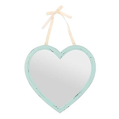 Etwas anderes Rustikaler Spiegel Romance mint, grün