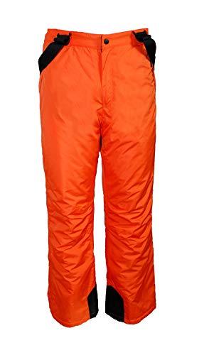 Unbekannt Kinder Jungen Skihose Schneehose Snowboardhose Winterhose Orange 170/176