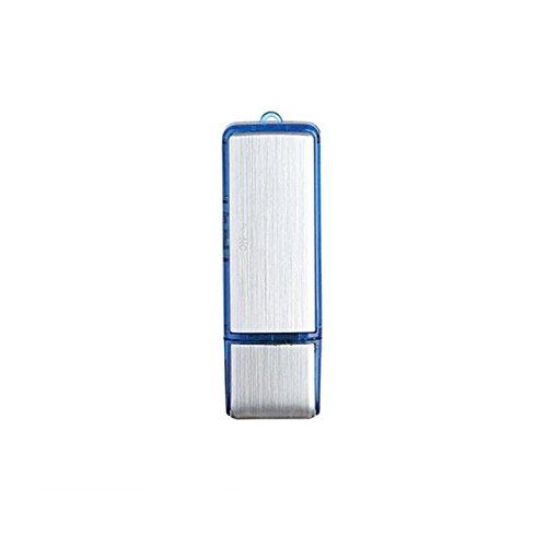 Wiiguda@ USB Mini Grabador de sonido digital Grabadora de Voz Digital portátil 8GB, USB Mini Grabadora de voz 8G U disco con función Grabadora Espía.