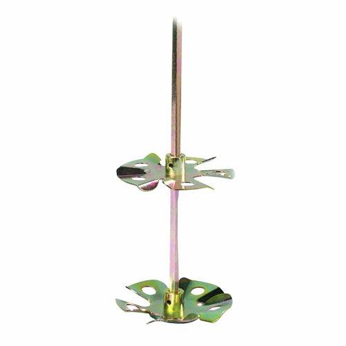 Preisvergleich Produktbild Bon 15-188 60,96 cm Karbonstahl Bohrer Mixer mit 16,51 cm doppelt Radzierblende Fin