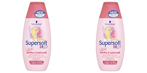 Schwarzkopf Super Soft KIDS Shampoo & Conditioner 250 ml*2 (Pack Of 2)