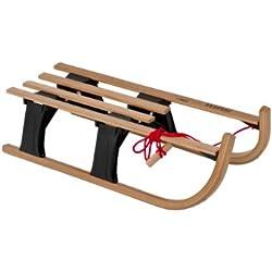 Hamax Lillehammer Rodel Mini 540024 - Trineo de madera, fabricado en madera de arce y haya