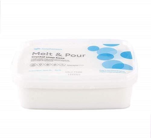 1 Kg de base de jabón transparente