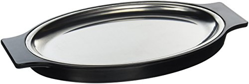 New Star Foodservice 26733 Oval Edelstahl