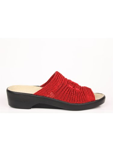 Arcopedico Womens Splash Nylon Sandals Rouge