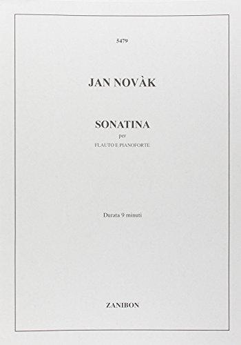 RICORDI NOVAK J. - SONATINA - FLUTE ET PIANO Klassische Noten Querflöte