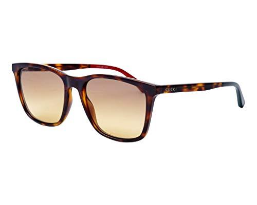 Gucci Sonnenbrillen (GG-0404-S 004) dunkel havana - grau-braun verlaufend
