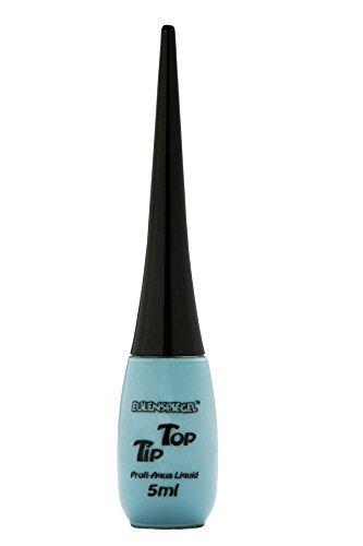 Eulenspiegel 673881 - Professional Liquid Aqua Schminke Tip Top - Flasche mit integriertem Pinsel - 5 ml - Türkis