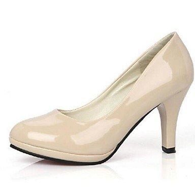 Moda Donna Sandali Sexy donna tacchi Primavera / Autunno tacchi Esterno in similpelle Stiletto Heel altri nero / rosso / bianco / Beige Altri beige