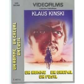 Un Homme , un Cheval , Un Fusil avec Klaus Kinski et Lee Burton