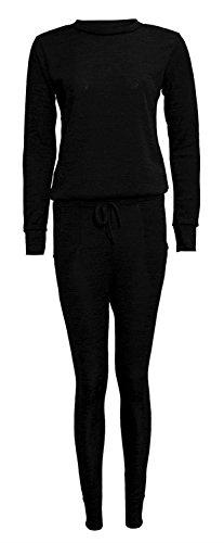 Chocolate Pickle ® Damen Gestrickter Thermisch Anzug für 40-50 Black