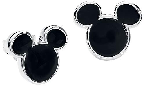 Micky Maus Disney by Couture Kingdom - Mickey Ohrstecker-Set silberfarben -