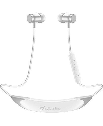 Preisvergleich Produktbild White Bluetooth Neckband Light Earphone